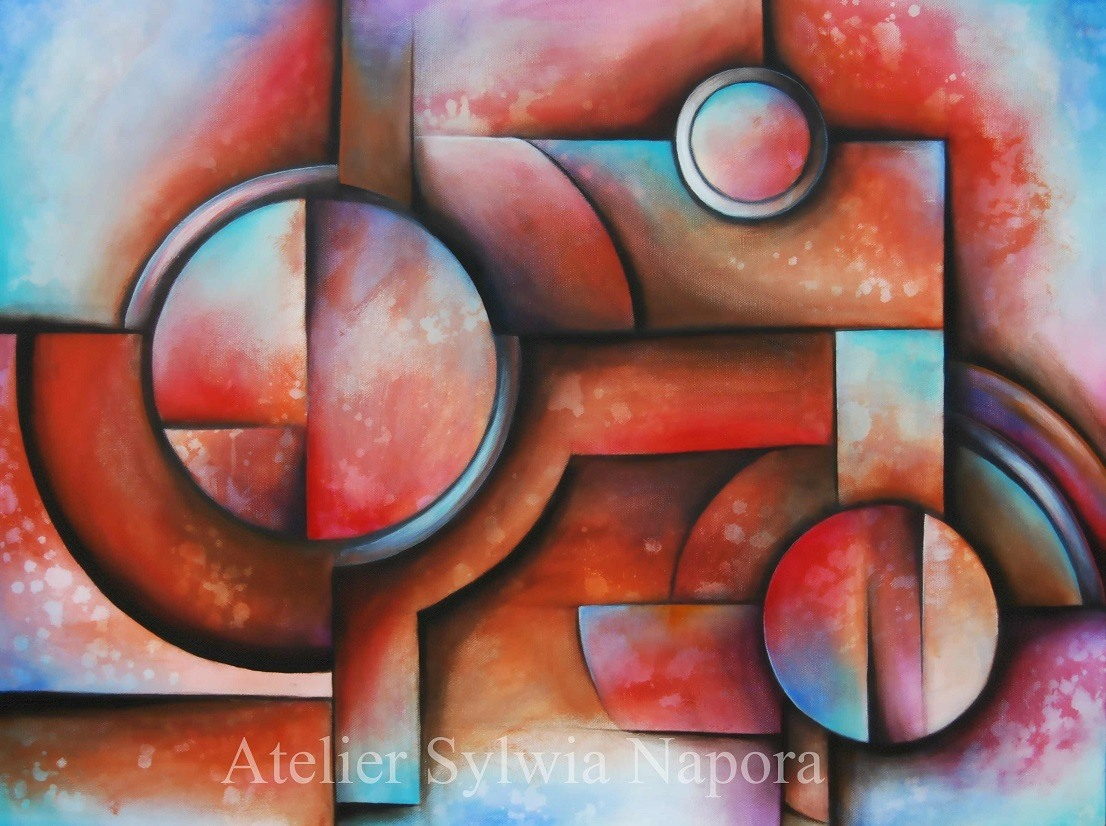 Acrylbild-Abstrakte-Malerei-4