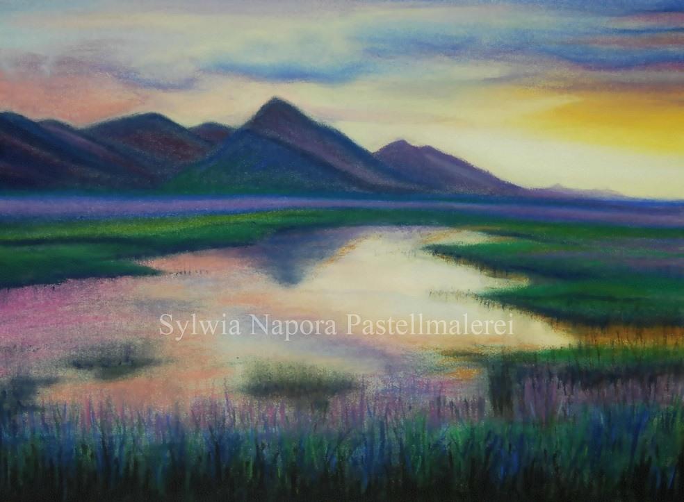 Pastellbilder-Pastellmalerei-Landschaften-k