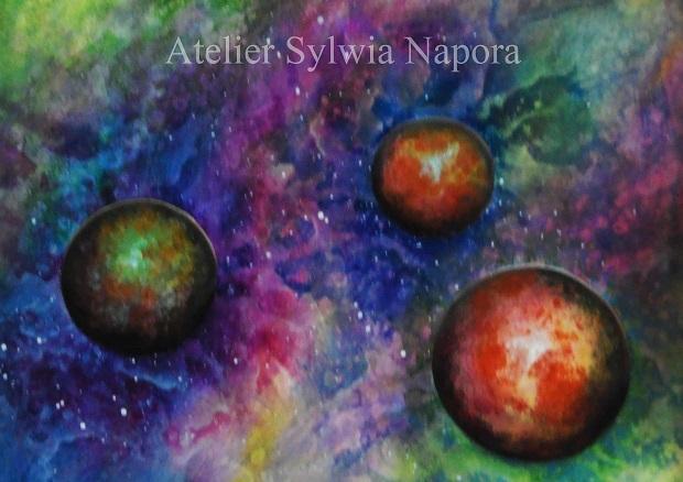 Acrylic Painting Abstract, Malerei mit Acrylfarben, Atelier Sylwia Napora, Bilder mit Acrylfarben, Abstrakt malen mit Acrylfarben