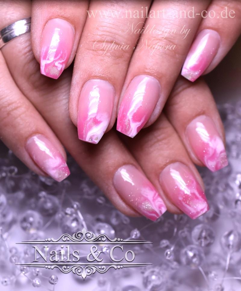 Marmorierung Nails