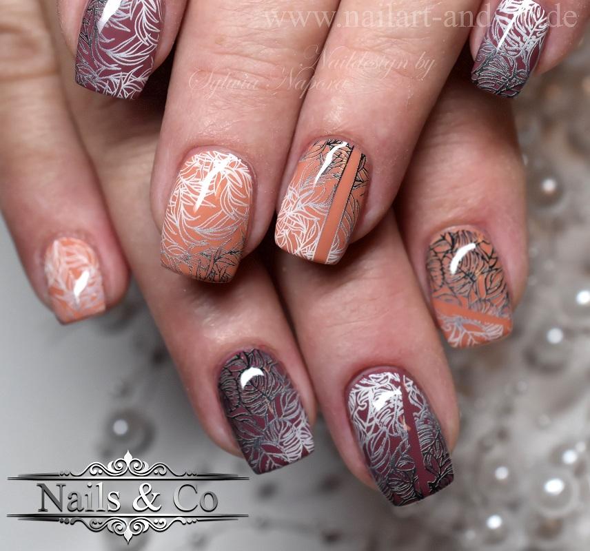 Herbst Nail Art
