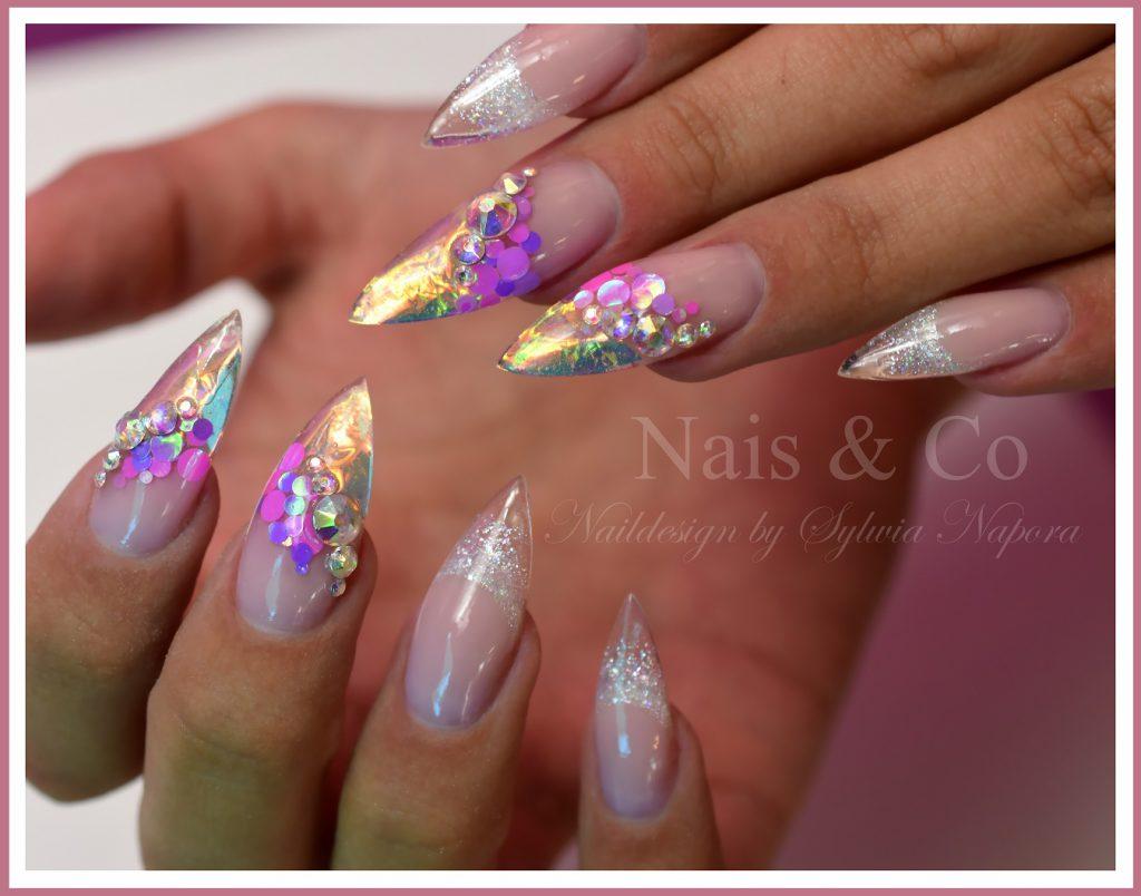 Feuer und Eis Nägel – Nail Art & Co