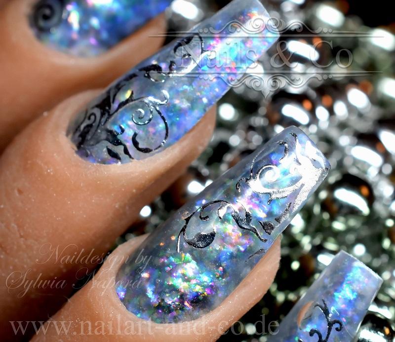 Black Opal Nails