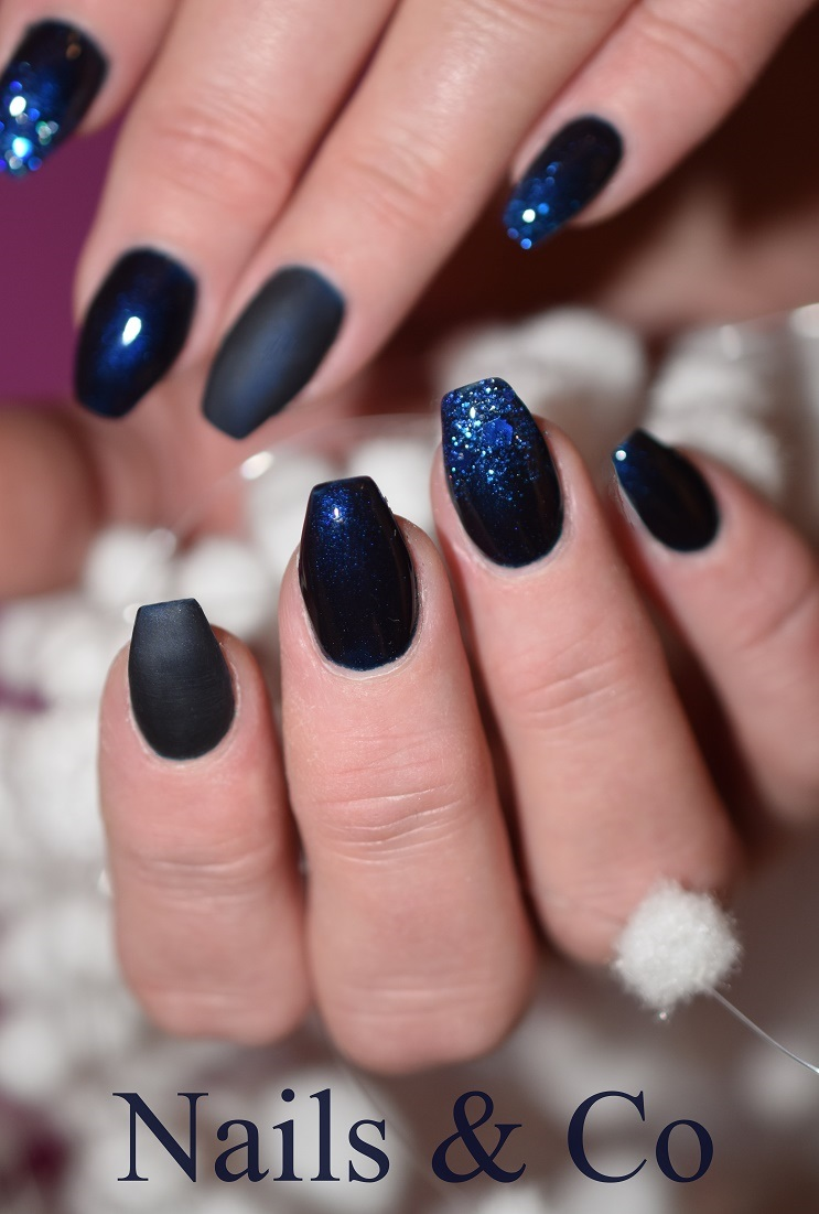 Matt Look Ein Modern Cooler Nageldesign Trend Nailart Co