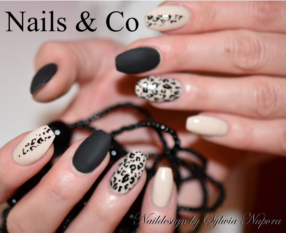 Matt Look- ein modern-cooler Nageldesign-Trend – Nail Art & Co