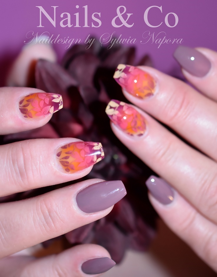 Nail Art autumn, Herbst