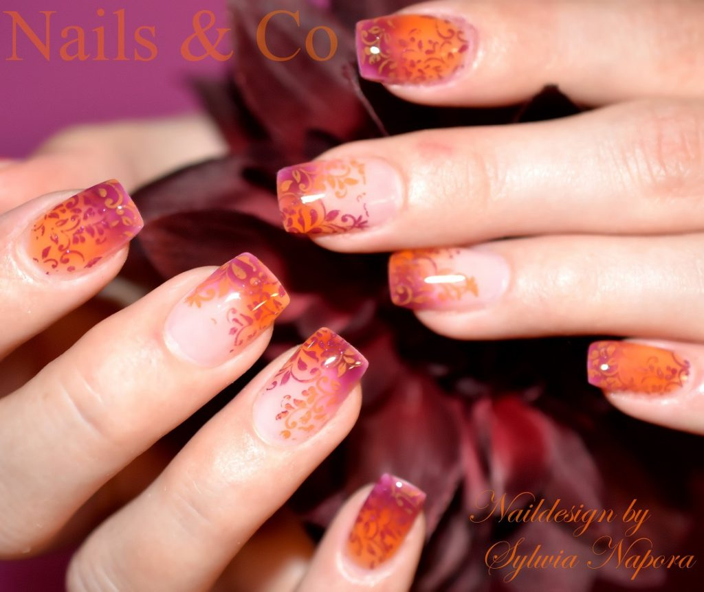 Herbst Nail Art, Autumn