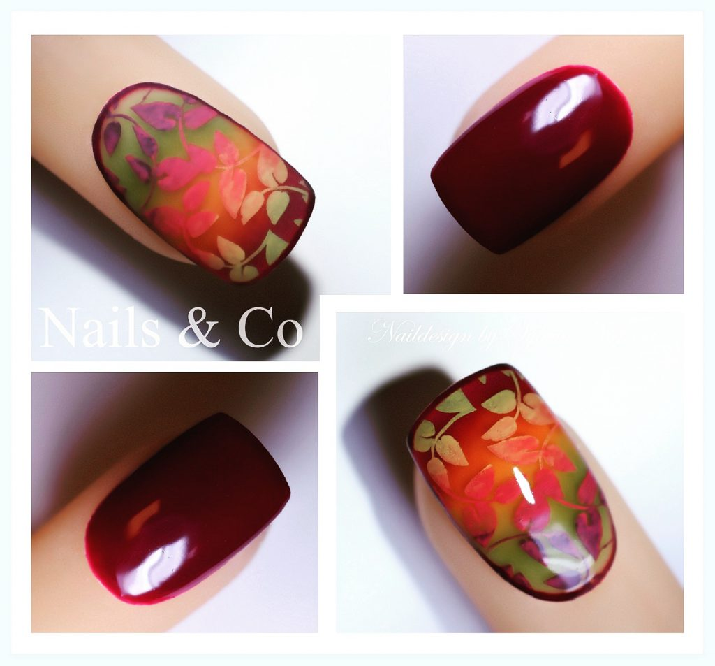 Herbst Nail Art, Fullcover