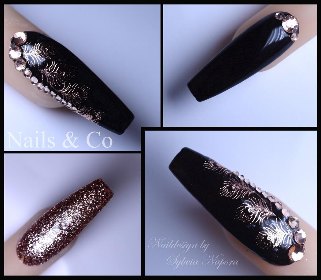 Federn- das Nail Art Design der ganz besonderen Art. – Nail Art & Co