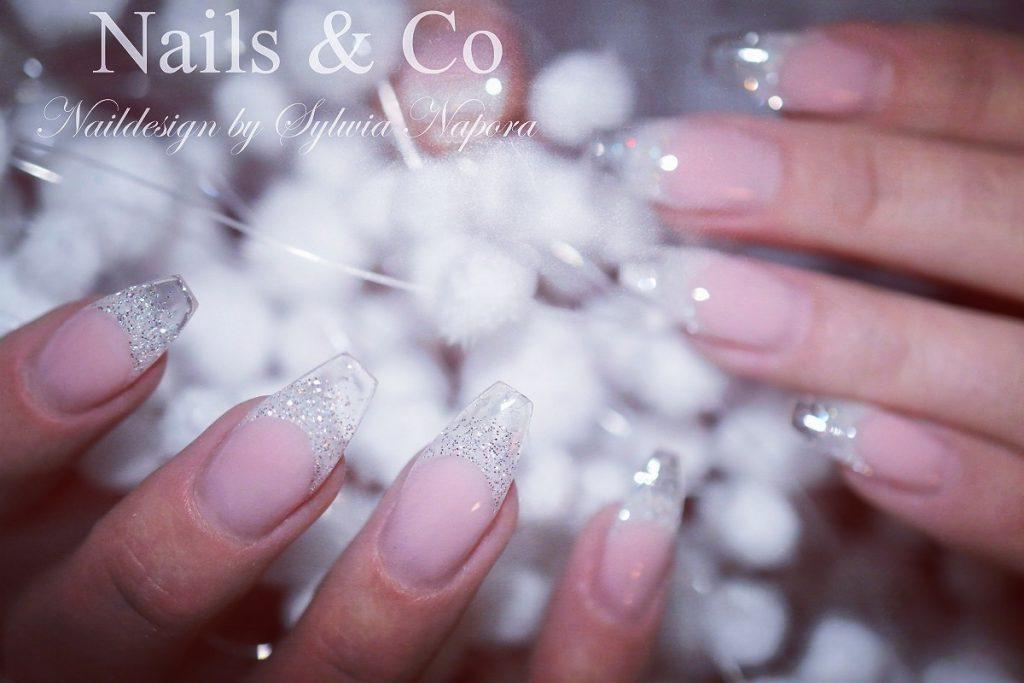 Glasspitzen Nail Art