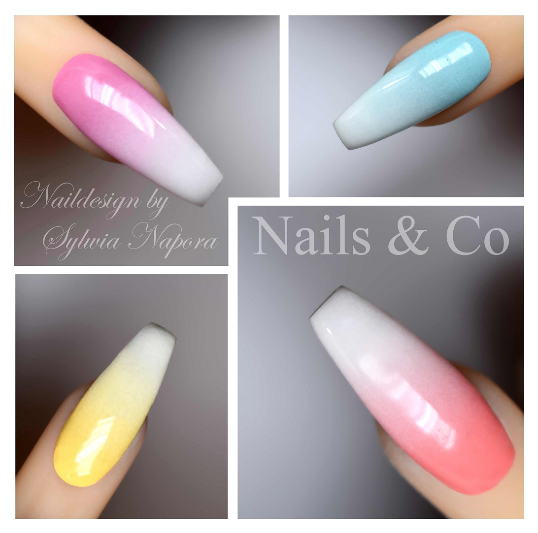 Ombre Look Nageldesign In Sanftem Pastell Nailart Co