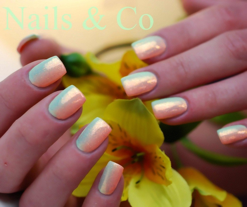 Pastell-Farbverlauf