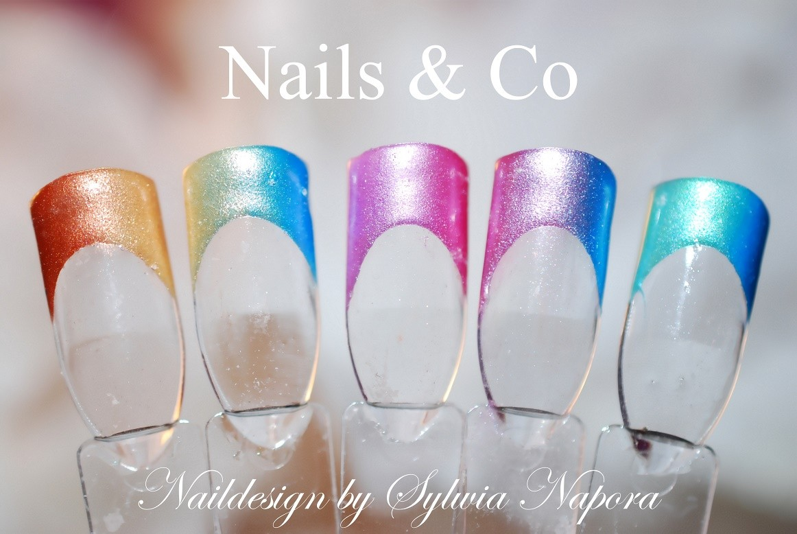 Ombré Look- Nageldesign in sanftem Pastell – Nail Art & Co