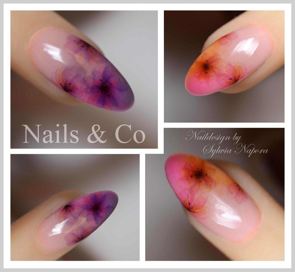 Blüten Nail Art