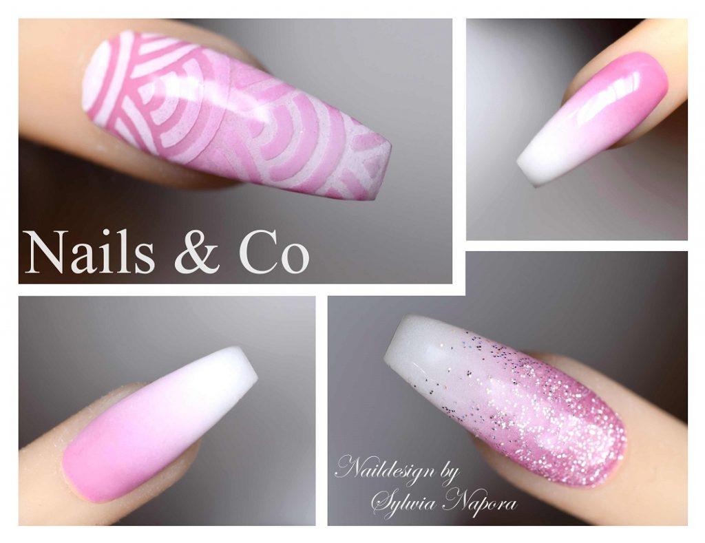Nail Art Rosa