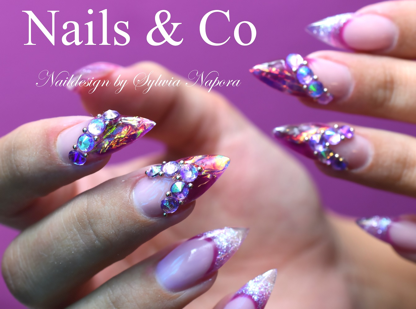 Fire & Ice Nails- das ultimative Nail Art Design 2017 – Nail Art & Co