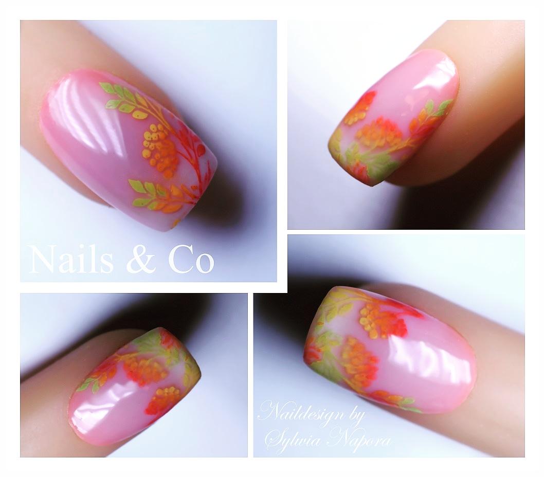 Autumn Nails Nail Art Design Voll Im Herbst Nailart Co