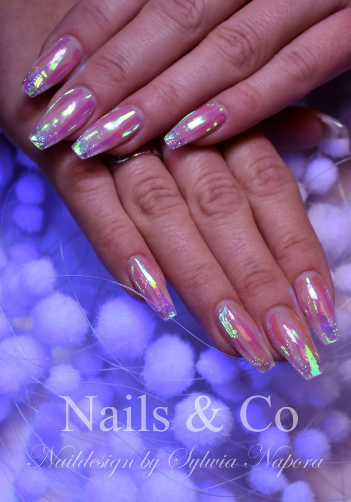 Glasfolie Nail Art