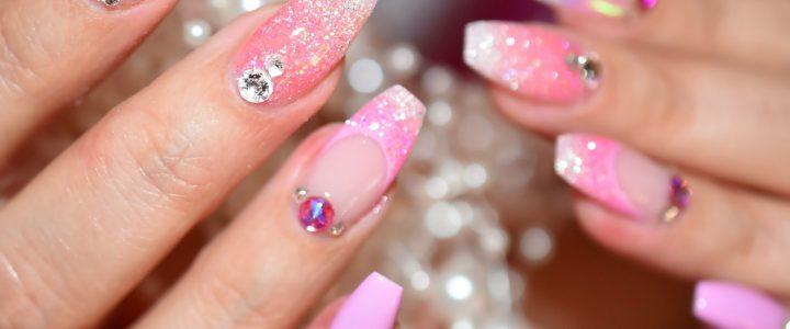Nail Art Pink
