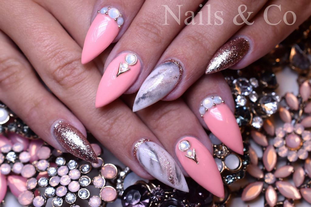 Glitzer Nails Nailart Co