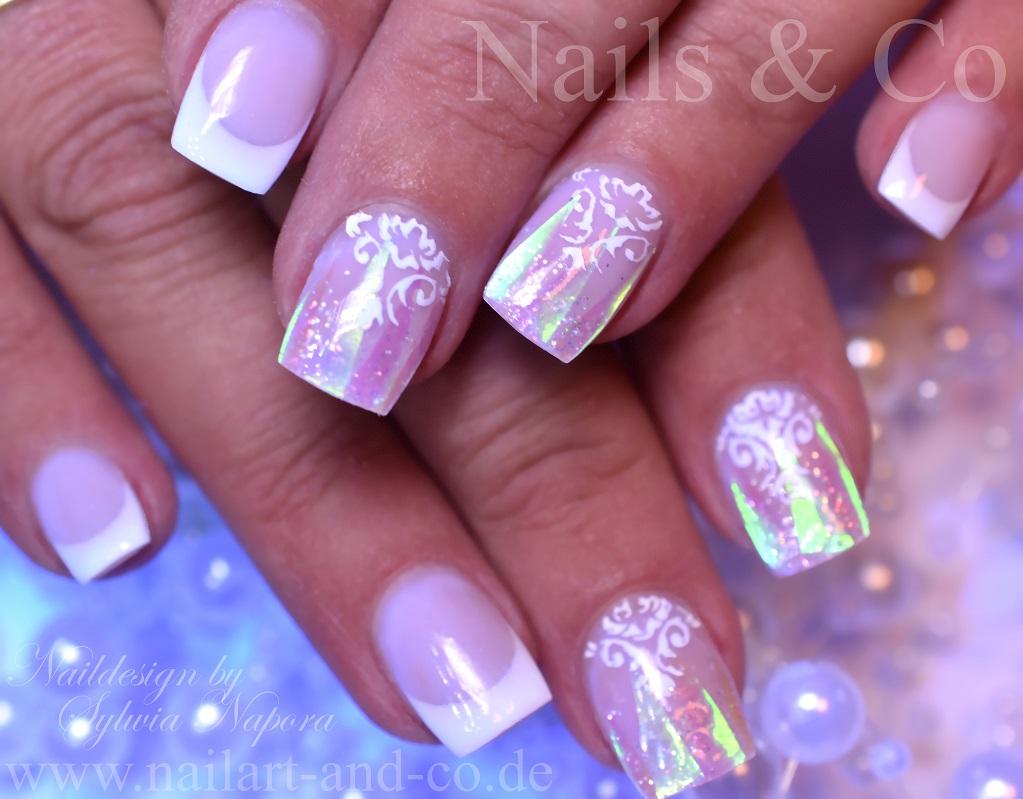 Glas Spiegel nail Art