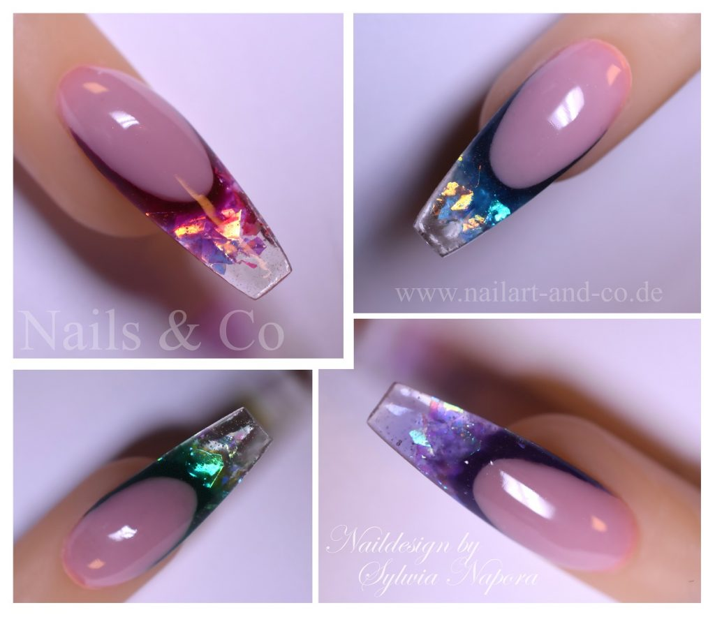 Nail Art, Nageldesign, French
