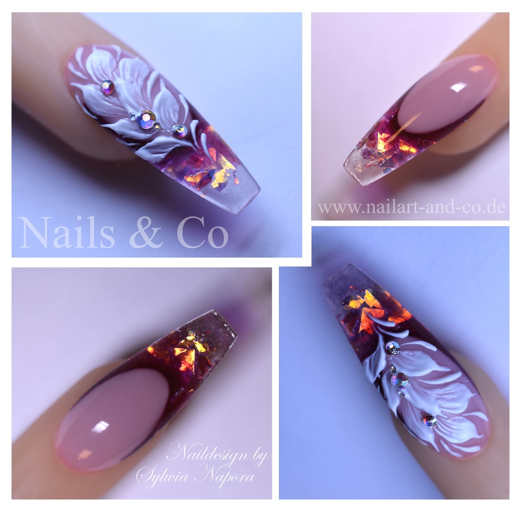 Fire & Ice Nails, 3D Nail Art