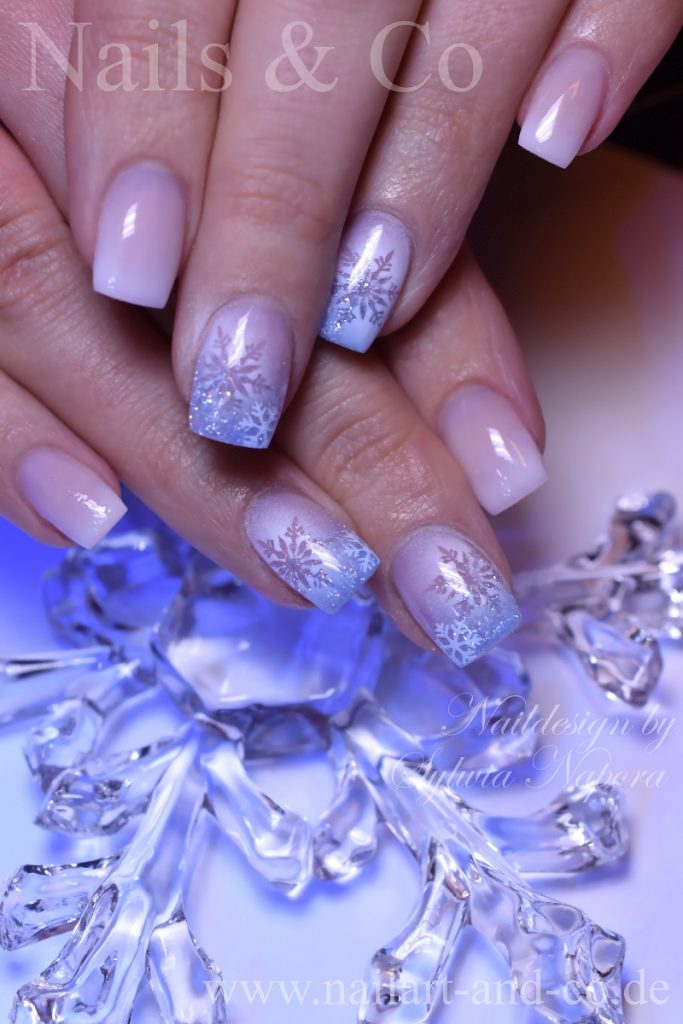 Winter Nail Art, Babyboomer