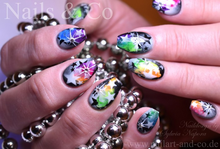 galaxie nails