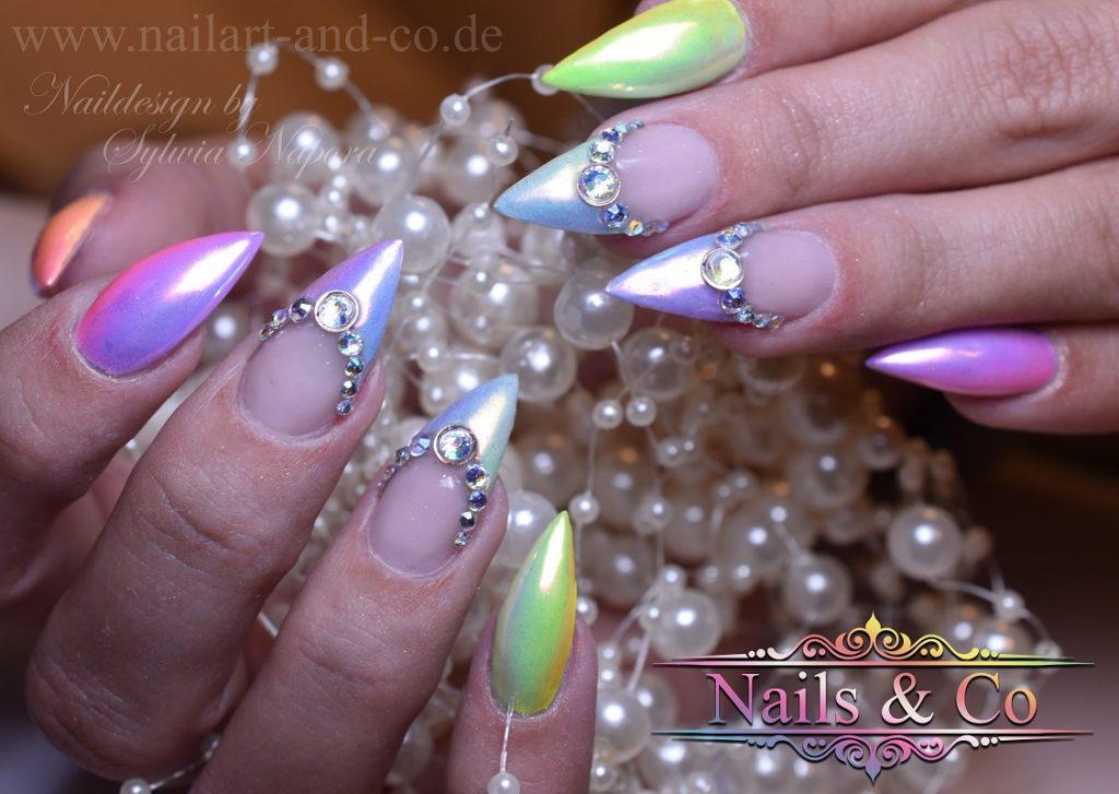 Ombrè Nails, Aurora