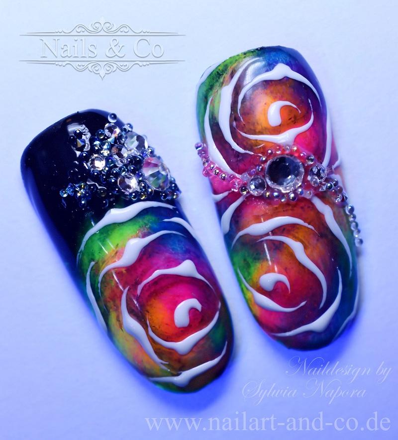 Rosen Nail Art